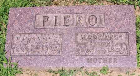 PIERO, MARGARET  (REED) - Stark County, Ohio | MARGARET  (REED) PIERO - Ohio Gravestone Photos