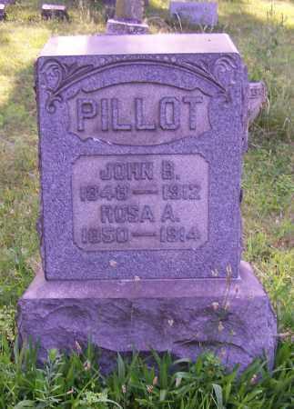 PILLOT, ROSA A. - Stark County, Ohio | ROSA A. PILLOT - Ohio Gravestone Photos