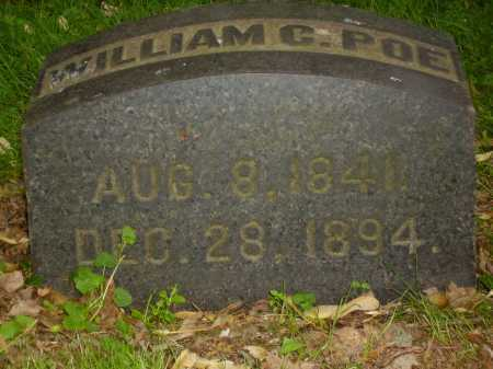 POE, WILLIAM CHARLES - Stark County, Ohio | WILLIAM CHARLES POE - Ohio Gravestone Photos