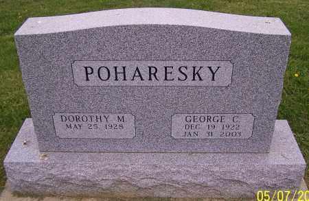 POHARESKY, DOROTHY M. - Stark County, Ohio | DOROTHY M. POHARESKY - Ohio Gravestone Photos