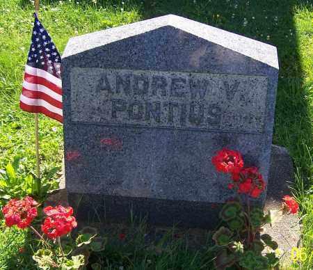 PONTIUS, ANDREW V. - Stark County, Ohio | ANDREW V. PONTIUS - Ohio Gravestone Photos