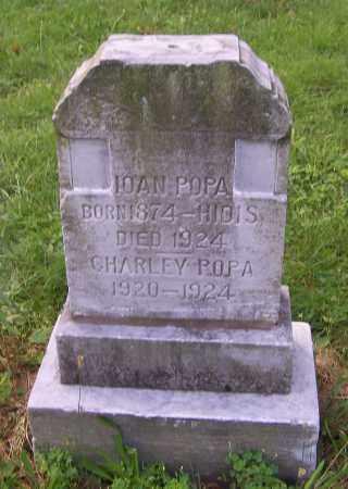 POPA, CHARLEY - Stark County, Ohio | CHARLEY POPA - Ohio Gravestone Photos