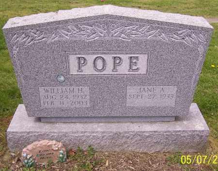 POPE, JANE A. - Stark County, Ohio | JANE A. POPE - Ohio Gravestone Photos
