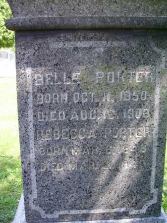 PORTER, BELLE - Stark County, Ohio | BELLE PORTER - Ohio Gravestone Photos