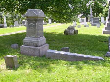 PORTER, FAMILY MONUMENT - Stark County, Ohio | FAMILY MONUMENT PORTER - Ohio Gravestone Photos