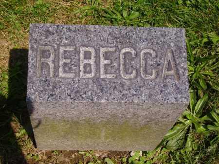 PORTER, REBECCA - Stark County, Ohio | REBECCA PORTER - Ohio Gravestone Photos