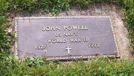 POWELL, JOHN   (MIL) - Stark County, Ohio   JOHN   (MIL) POWELL - Ohio Gravestone Photos