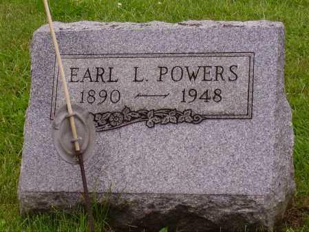 POWERS, EARL L. - Stark County, Ohio | EARL L. POWERS - Ohio Gravestone Photos