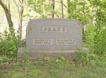 PRATT, CHARLES B - Stark County, Ohio | CHARLES B PRATT - Ohio Gravestone Photos