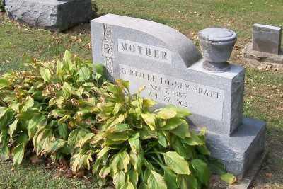 PRATT, GERTRUDE - Stark County, Ohio | GERTRUDE PRATT - Ohio Gravestone Photos