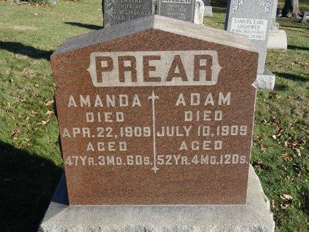 PREAR, AMANDA - Stark County, Ohio | AMANDA PREAR - Ohio Gravestone Photos