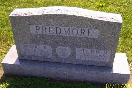PREDMORE, DENNIS K. - Stark County, Ohio   DENNIS K. PREDMORE - Ohio Gravestone Photos