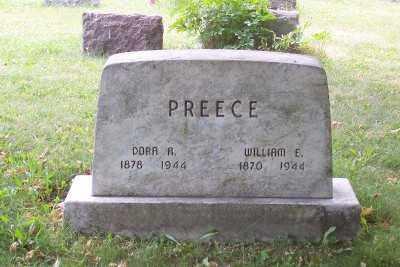 PREECE, WILLIAM E. - Stark County, Ohio | WILLIAM E. PREECE - Ohio Gravestone Photos