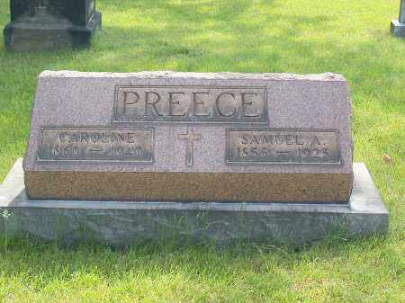 PREECE, SAMUEL A. - Stark County, Ohio   SAMUEL A. PREECE - Ohio Gravestone Photos