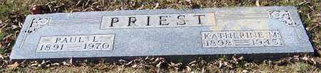 PRIEST, KATHERINE M. - Stark County, Ohio | KATHERINE M. PRIEST - Ohio Gravestone Photos