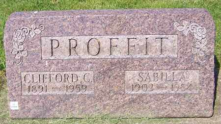 PROFFIT, CLIFFORD C. - Stark County, Ohio | CLIFFORD C. PROFFIT - Ohio Gravestone Photos