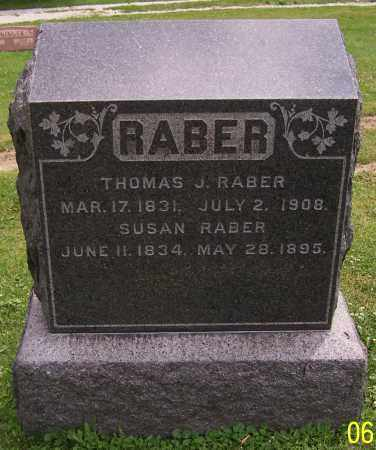 RABER, SUSAN - Stark County, Ohio | SUSAN RABER - Ohio Gravestone Photos