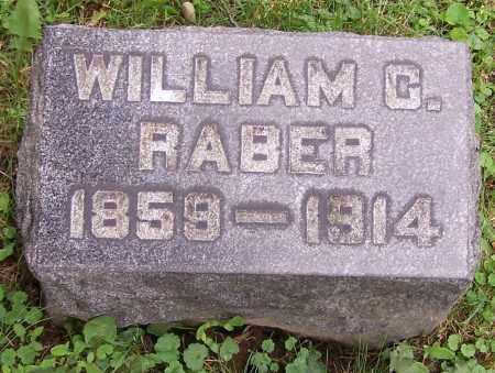 RABER, WILLIAM C. - Stark County, Ohio | WILLIAM C. RABER - Ohio Gravestone Photos