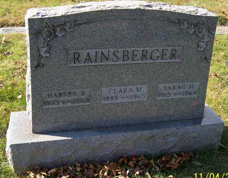 RAINSBERGER, CLARA M. - Stark County, Ohio | CLARA M. RAINSBERGER - Ohio Gravestone Photos