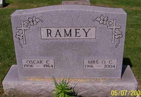 RAMEY, OSCAR C. - Stark County, Ohio | OSCAR C. RAMEY - Ohio Gravestone Photos