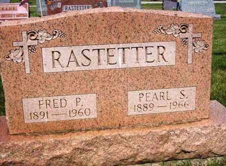 RASTETTER, FRED P. - Stark County, Ohio | FRED P. RASTETTER - Ohio Gravestone Photos