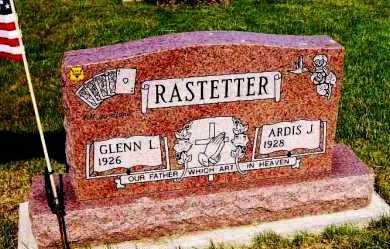 RASTETTER, GLENN L. - Stark County, Ohio | GLENN L. RASTETTER - Ohio Gravestone Photos