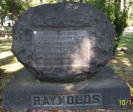 RAYNOLDS, WILLIAM F. - Stark County, Ohio | WILLIAM F. RAYNOLDS - Ohio Gravestone Photos