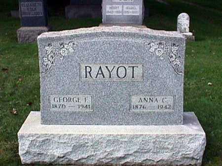 RAYOT, GEORGE F. - Stark County, Ohio   GEORGE F. RAYOT - Ohio Gravestone Photos