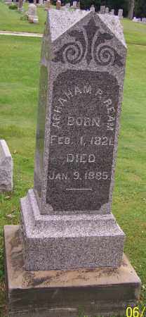 REAM, ABRAHAM P. - Stark County, Ohio | ABRAHAM P. REAM - Ohio Gravestone Photos