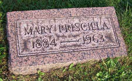 REAM, MARY PRISCILLA - Stark County, Ohio | MARY PRISCILLA REAM - Ohio Gravestone Photos