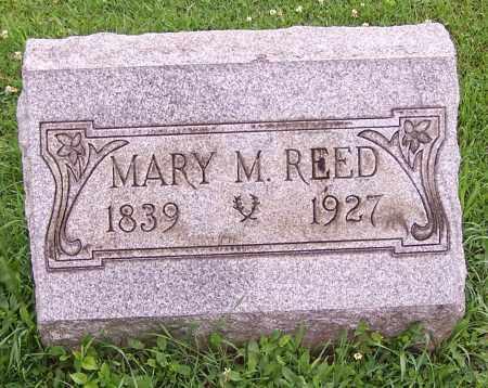 REED, MARY M. - Stark County, Ohio | MARY M. REED - Ohio Gravestone Photos