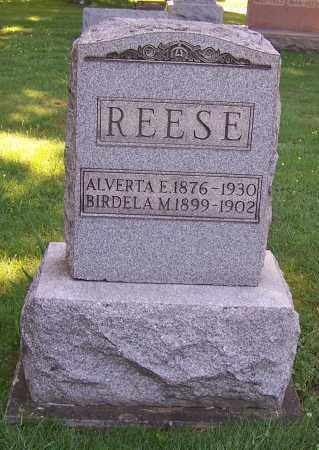 SELLS REESE, ALVERTA E. - Stark County, Ohio | ALVERTA E. SELLS REESE - Ohio Gravestone Photos