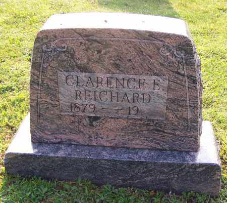 REICHARD, CLARENCE E. - Stark County, Ohio | CLARENCE E. REICHARD - Ohio Gravestone Photos
