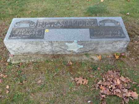 REIFSNYDER, HANNAH - Stark County, Ohio | HANNAH REIFSNYDER - Ohio Gravestone Photos