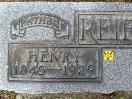 REIFSNYDER, HENRY - Stark County, Ohio   HENRY REIFSNYDER - Ohio Gravestone Photos