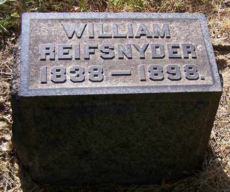 REIFSNYDER, WILLIAM - Stark County, Ohio | WILLIAM REIFSNYDER - Ohio Gravestone Photos
