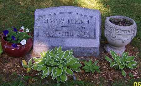 REINERTH, SUSANNA - Stark County, Ohio | SUSANNA REINERTH - Ohio Gravestone Photos