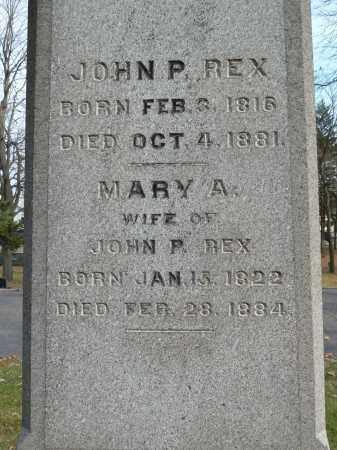 REX, MARY A - Stark County, Ohio   MARY A REX - Ohio Gravestone Photos
