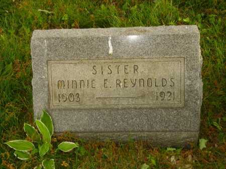 REYNOLDS, MINNIE E. - Stark County, Ohio   MINNIE E. REYNOLDS - Ohio Gravestone Photos