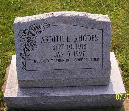 RHODES, ARDITH E. - Stark County, Ohio | ARDITH E. RHODES - Ohio Gravestone Photos