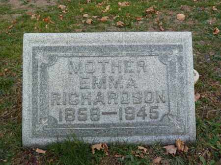 RICHARDSON, EMMA - Stark County, Ohio   EMMA RICHARDSON - Ohio Gravestone Photos