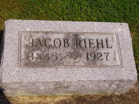 RIEHL, JACOB - Stark County, Ohio | JACOB RIEHL - Ohio Gravestone Photos