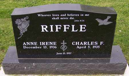 RIFFLE, ANNE IRENE - Stark County, Ohio | ANNE IRENE RIFFLE - Ohio Gravestone Photos