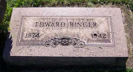 RINGER, EDWARD - Stark County, Ohio   EDWARD RINGER - Ohio Gravestone Photos