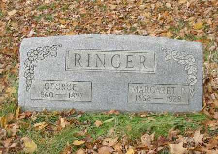 RINGER, GEORGE - Stark County, Ohio | GEORGE RINGER - Ohio Gravestone Photos