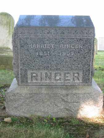 RINGER, HARRIET - Stark County, Ohio | HARRIET RINGER - Ohio Gravestone Photos