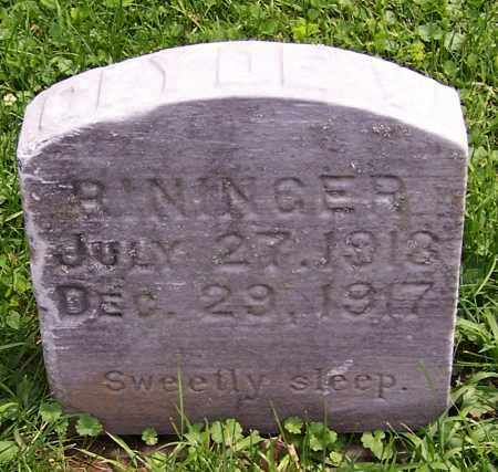 RININGER, CLYDE W. - Stark County, Ohio | CLYDE W. RININGER - Ohio Gravestone Photos