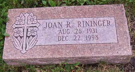 RININGER, JOAN R. - Stark County, Ohio | JOAN R. RININGER - Ohio Gravestone Photos