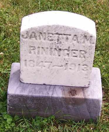 GIRLEY RININGER, JANETTA M. - Stark County, Ohio | JANETTA M. GIRLEY RININGER - Ohio Gravestone Photos