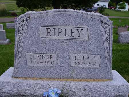 RIPLEY, LULA E. - Stark County, Ohio | LULA E. RIPLEY - Ohio Gravestone Photos